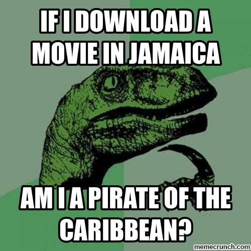 Funny Memes Download : If i download a movie in jamaica