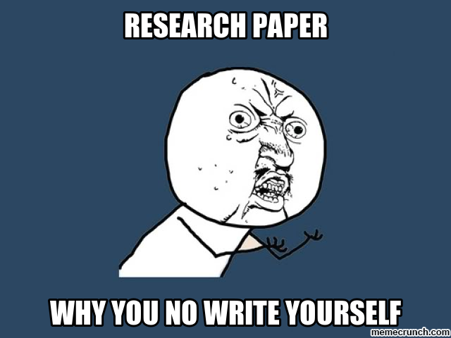 Post image for The Do's and Don'ts of Research Papers