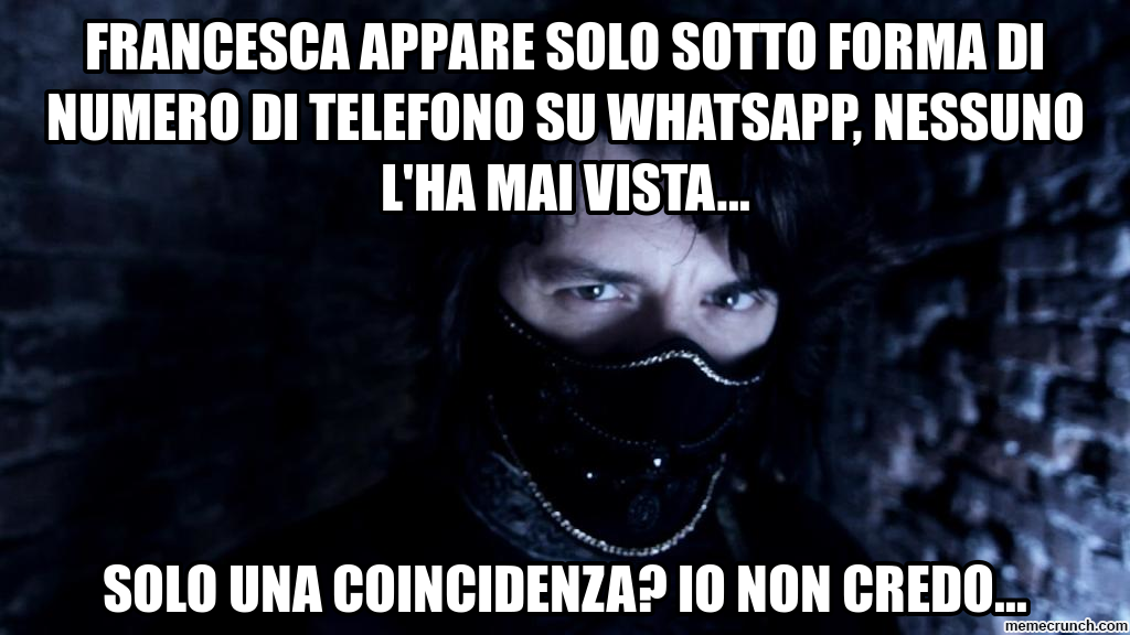 telefono su whatsapp, nessuno l'ha mai vista... Dec 28 19:08 UTC ...