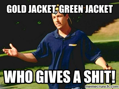 Gold Jacket Green Jacket - My Jacket