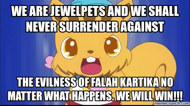 We Are Jewelpets And We Shall Never Surrender Against