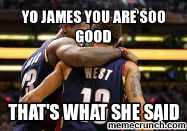 yo James you are soo good