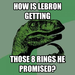 LeBron is a liar?