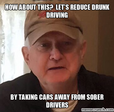 how about this?  let's reduce drunk driving