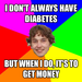 i don't always have diabetes