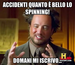 accidenti quanto è bello lo spinning!