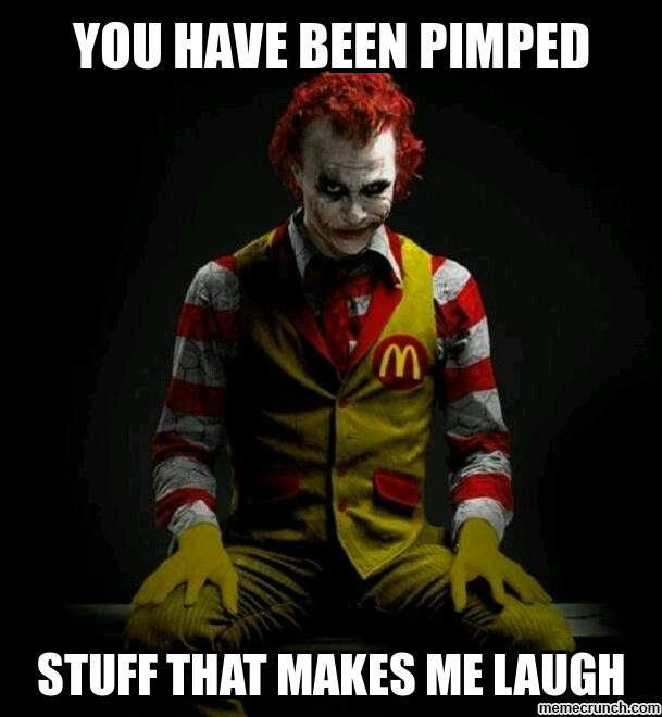 Pics Photos  Ronald Mcdonald Meme