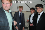 dirty poor people