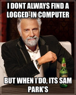 i dont always find a logged-in computer