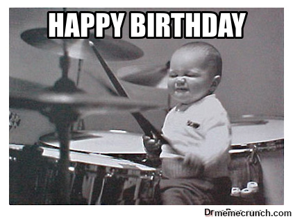 Drummer birthday