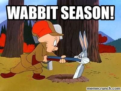 wabbit season!